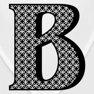 Personalized B Initial Mugs & Drinkware - Bandana