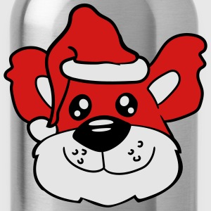 head face father christmas gifts winter nicholas s T-Shirts - Water Bottle