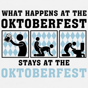 what_happens_at_the_oktoberfest_052016a_ Mugs & Drinkware - Men's Premium T-Shirt