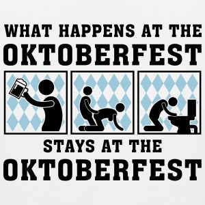 what_happens_at_the_oktoberfest_052016c_ Women's T-Shirts - Men's Premium Tank
