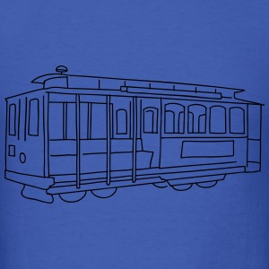 San Francisco Cable Car Long Sleeve Shirts - Men's T-Shirt