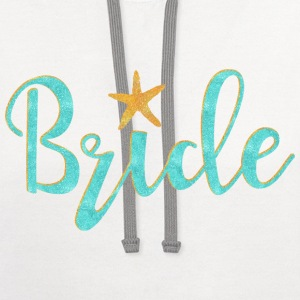 Starfish Bride Women's T-Shirts - Contrast Hoodie