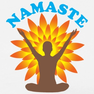 Namaste Hoodies - Men's Premium T-Shirt