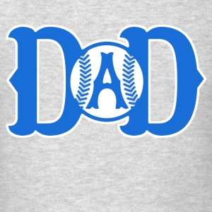 DAD BASEBALL - Men's T-Shirt