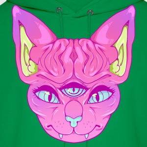 All Seeing Sphynx: A - Men's Hoodie