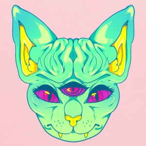 All Seeing Sphynx: B - Kids' Hoodie