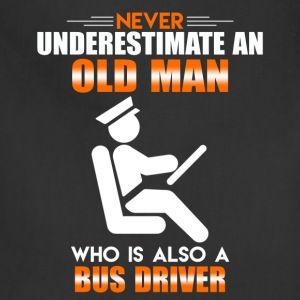 Old Man Bus Driver - Adjustable Apron