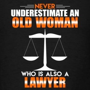 Old Woman Lawyer - Men's T-Shirt