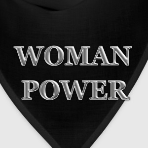 WOMAN-POWER Women's T-Shirts - Bandana