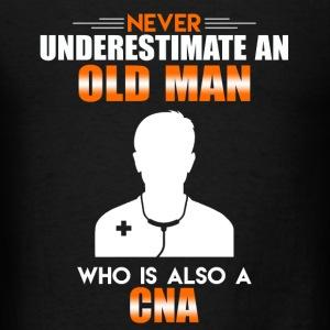 Old Man CNA - Men's T-Shirt