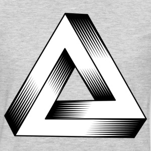 Logical triangle art T-Shirts - Men's Premium Long Sleeve T-Shirt