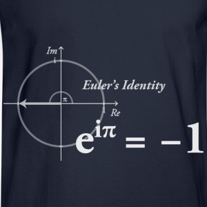 Euler's Identity Formula - Men's Long Sleeve T-Shirt