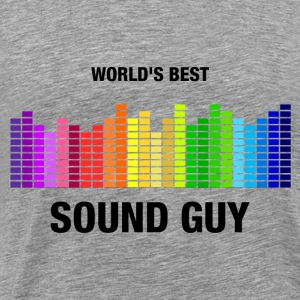 World's Best Sound Guy Hoodies - Men's Premium T-Shirt