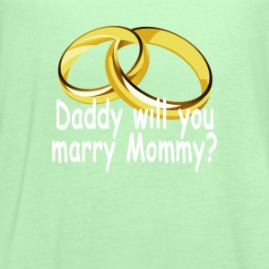 daddy_will_you_marry_mommy_ - Women's Flowy Tank Top by Bella