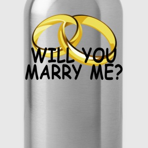 will_you_marry_me_ - Water Bottle