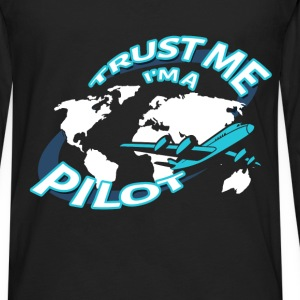 Jobs - Pilot - Men's Premium Long Sleeve T-Shirt