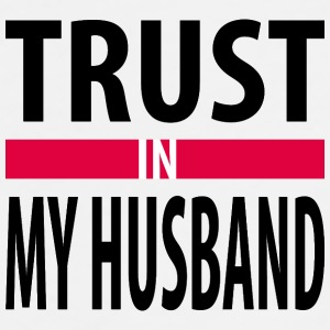 I trust in my husband Sportswear - Men's Premium T-Shirt