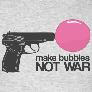 Make bubbles not war Hoodies - Men's T-Shirt