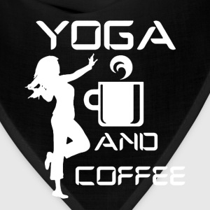 Yoga And Coffee Shirt - Bandana