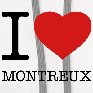 I LOVE MONTREUX - Contrast Hoodie