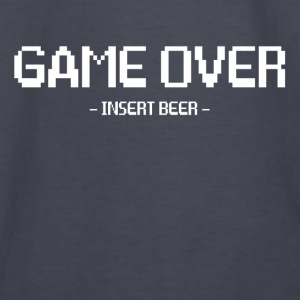 Game Over Insert Beer FUNNY GEEK NERD PARTY Hoodies - Kids' Long Sleeve T-Shirt
