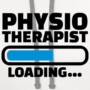 Physiotherapist T-Shirts - Contrast Hoodie