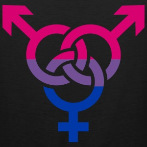 Bisexual T-Shirts - Men's Premium Tank