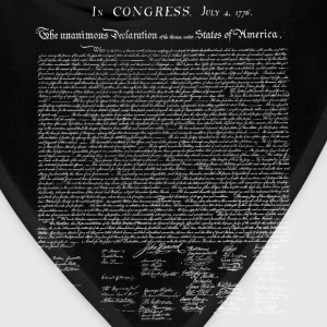 United States Declaration of Independence - Bandana