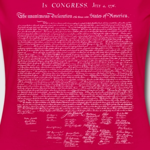 United States Declaration of Independence - Women's Premium Long Sleeve T-Shirt