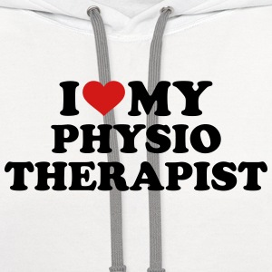 I love my physiotherapist Women's T-Shirts - Contrast Hoodie