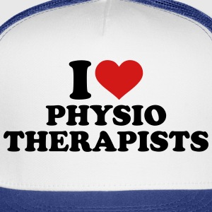 I love physiotherapists Women's T-Shirts - Trucker Cap