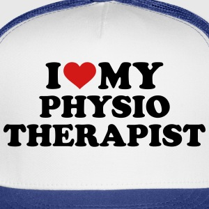 I love my physiotherapist Kids' Shirts - Trucker Cap