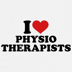 I love physiotherapists Mugs & Drinkware - Men's Premium T-Shirt