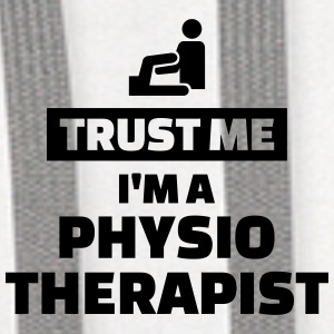 Trust me I'm a physiotherapist Mugs & Drinkware - Contrast Hoodie