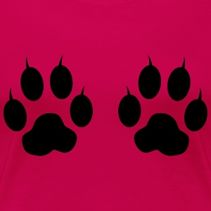 Cat Paws & Claws Tanks - Women's Premium T-Shirt