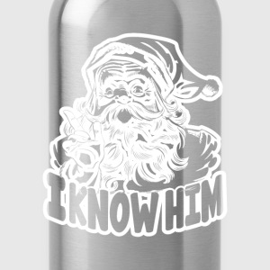 i know him - Water Bottle