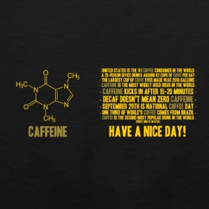 Caffeine facts - Men's Premium Tank