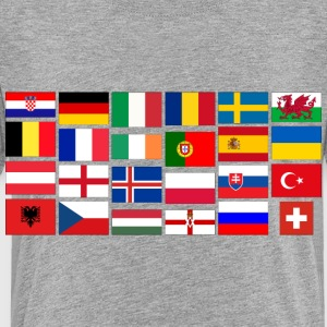 2016 Soccer Football with flags Sweatshirts - Toddler Premium T-Shirt