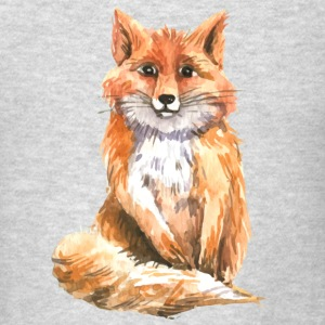 Watercolor fox Tanks - Men's T-Shirt