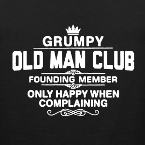 Grumpy Old Man Shirt - Men's Premium Tank