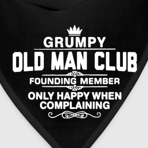 Grumpy Old Man Shirt - Bandana