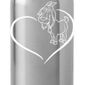 Goat Heart Shirt - Water Bottle
