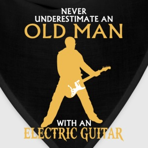 Old Man Electric Guitar - Bandana