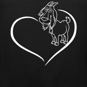 Goat Heart Shirt - Men's Premium Tank