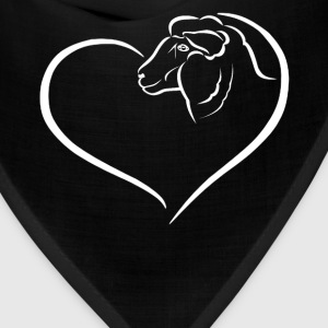 Sheep Heart Shirt - Bandana
