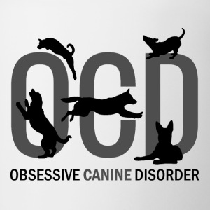 OCD - Obsessive Canine Disorder - Coffee/Tea Mug