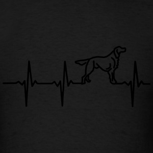 MY HEART BEATS FOR DOGS Long Sleeve Shirts - Men's T-Shirt