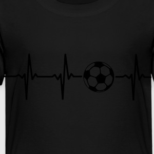 MY HEART BEATS FOR SOCCER Kids' Shirts - Toddler Premium T-Shirt