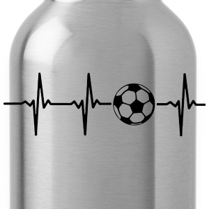 MY HEART BEATS FOR SOCCER Hoodies - Water Bottle