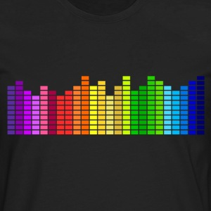 Audio Graphic T-Shirts - Men's Premium Long Sleeve T-Shirt